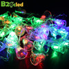 Holiday Decoration Led Lamp 5 5 M 28 Leds Waterproof Garland Christmas Lights Outdoor Small Bell