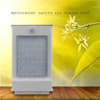 49 led防水pir motionセンサーソーラーledライト屋外セキュリティランプ省エネ街路庭パス庭ライト