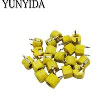 Free Shipping 20pcs,JML06-1-40P 40pf 6mm JML06-1 DIP trimmer Adjustable capacitor