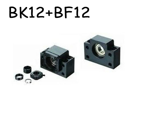 ФОТО New 1pc BK12 and 1pc BF12 Ballscrew End Supports CNC