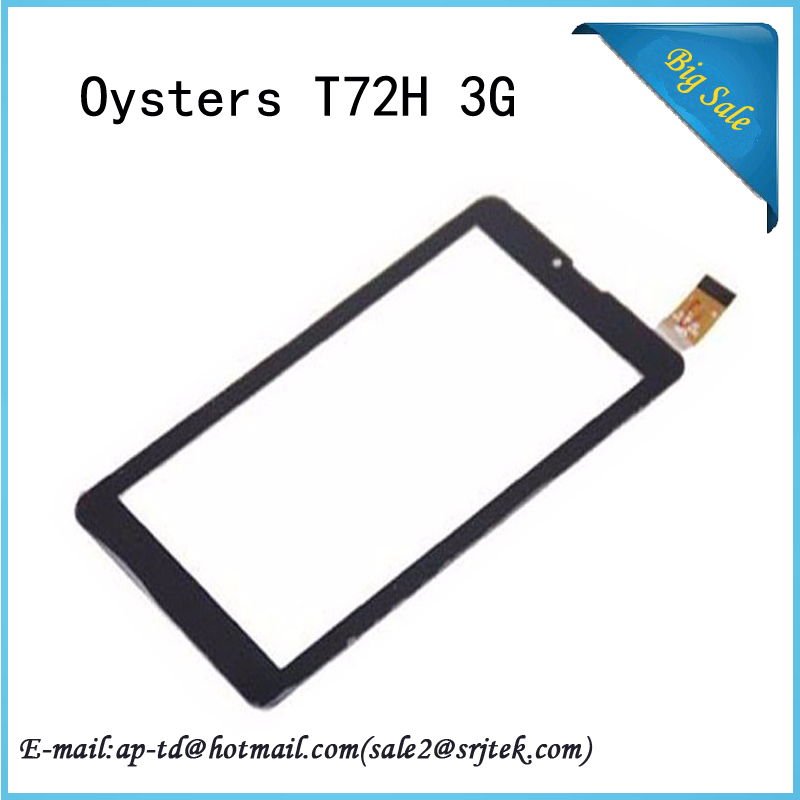 Wholesale 7 Inch Black for Oysters T72H 3G Tablet Pc Touch Screen Digitizer Glass Sensor Repair Replacement Parts Panel 10 1 inch oysters t104w 3g tablet pc touch screen digitizer panel repair glass hk10dr2590