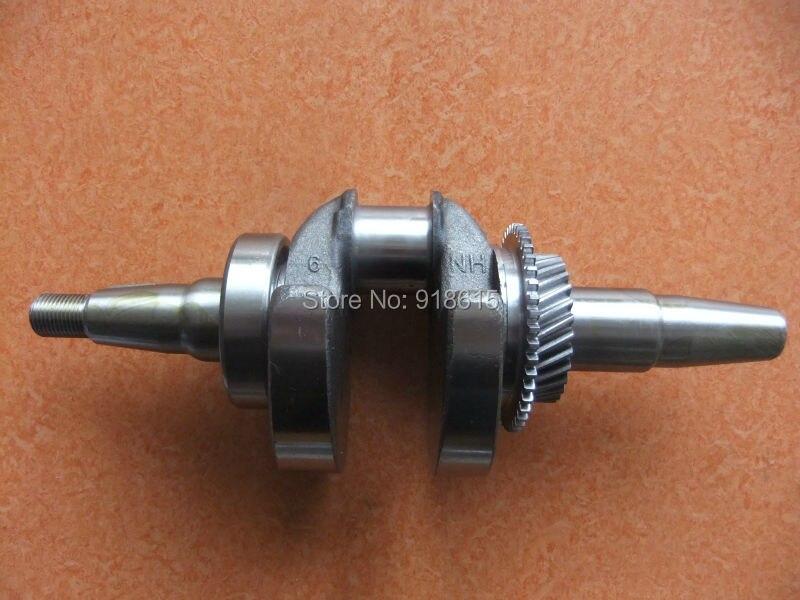 177F crankshaft taper shaft gasoline generator parts replacement petrol generator parts gx240 gx270 173f 177f crankshaft diameter 25