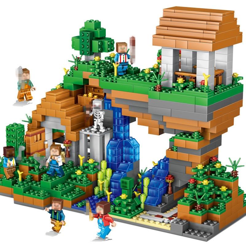 Qunlong-957pcs-Blocks-Figures-Toy-For-Kids-Compatible-Legoe-Minecrafted-City-Building-Blocks-Set-Education-Toys (2)