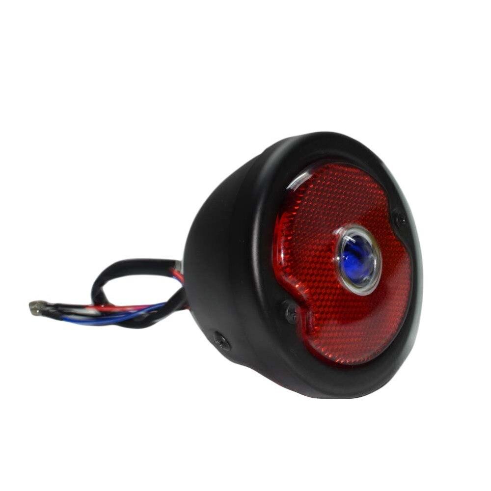 Beleuchtungen & Blinker Motorradteile 12v Flamme Bremse Rück Licht Metallhalterung Rot Lampe Für Harley Cruiser Um Jeden Preis