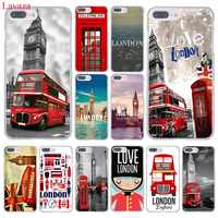 Lavaza London big ben Bus Harte Telefon Fall für iPhone XR XS X 11 Pro Max 10 7 8 6 6S 5 5S SE 4S 4 Abdeckung