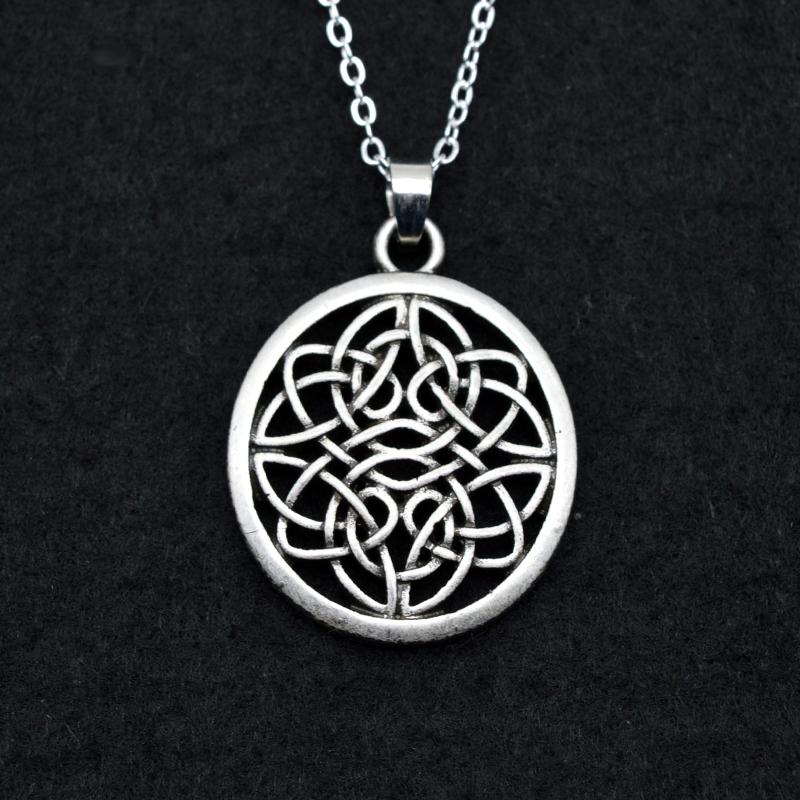 HTB1NhytPXXXXXarapXXq6xXFXXXv - Celtic Round Shaped Pendant