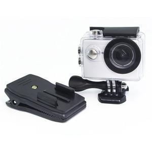 Image 4 - Quick CLIPกระเป๋าเป้สะพายหลังRucksackหมวกCLAMP Mount AdapterสำหรับGoPro HERO 6 5 4 3 + 2/สำหรับXiaomi/foryi 4K/กล้องกีฬา