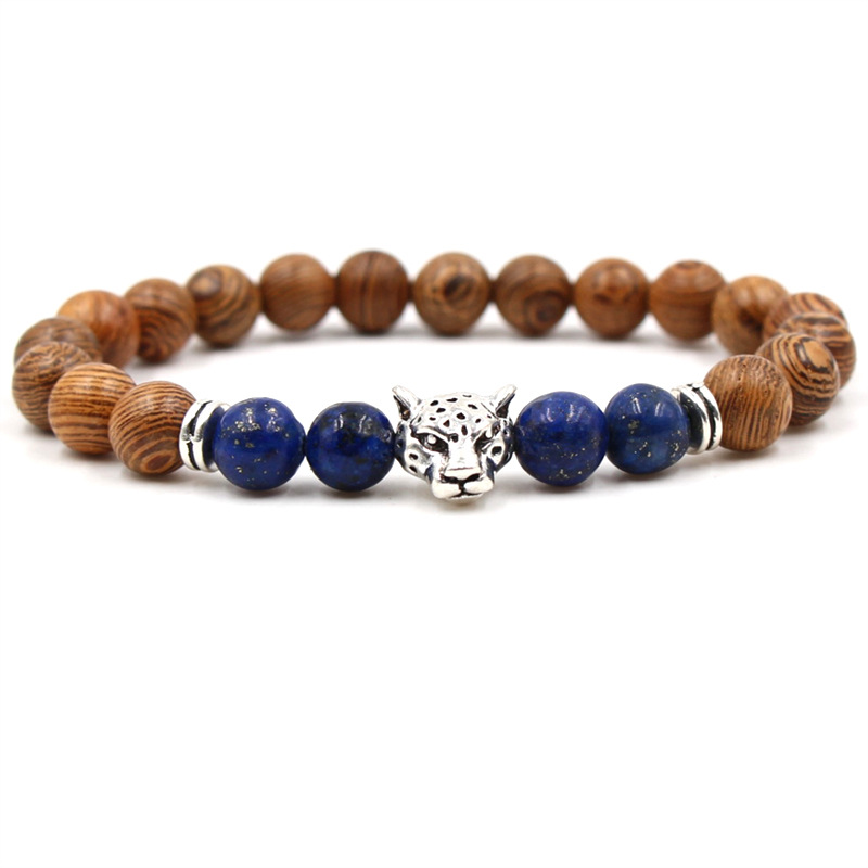 Trendy Lapis Lazuli Bracelets Best Selling 2019 Products Volcanic Lava Natural Stone Bracelets For Women Man Jewelry Gifts in Charm Bracelets from Jewelry Accessories