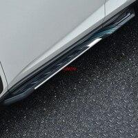 Topunion педали шаг в сторону Бар Подножка для Lexus RX RX200T RX350 RX450H 2016 2017 2018.SUV фабрики
