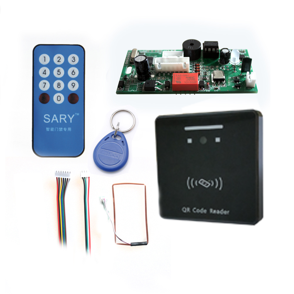Mobile phone Qr code gate lock Access Control system Electronic integrated 125KHZ RFID Mobile phone Qr code gate lock Access Control system Electronic integrated 125KHZ RFID