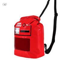 Новинка 8L IPX5 Водонепроницаемая видимая сумка для первой помощи аварийная медицинская сумка для выживания на открытом воздухе походная Сум...