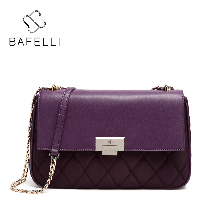 BAFELLI luxury bags for women 2018 fashion Designer Diamond Lattice shoulder bags leather handbags bolsa feminina цены онлайн