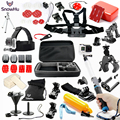 Gopro Hero 5 Accessories Set Helmet Harness Chest Belt Head Mount Strap Monopod Go pro hero3 5 5S  4 session 3+ xiaomi yi GS55