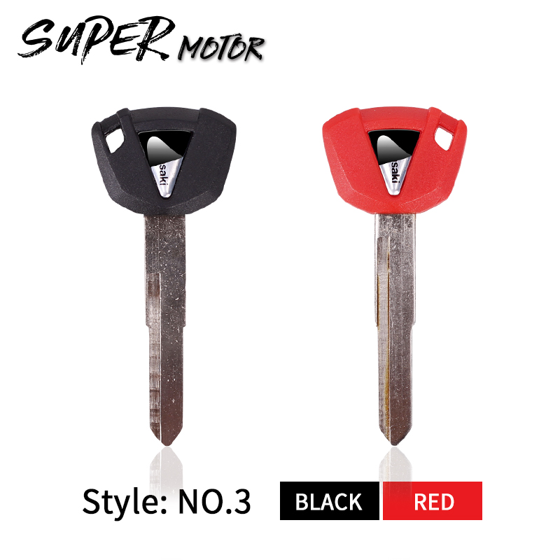 Brand New Key Motorcycle Replacement Keys Uncut For KAWASAKI ZX-6R ZX-7R ZX-9R ZX-10R ZX-12R ZX-14R ZX750P ZX900 F C B ZX1200