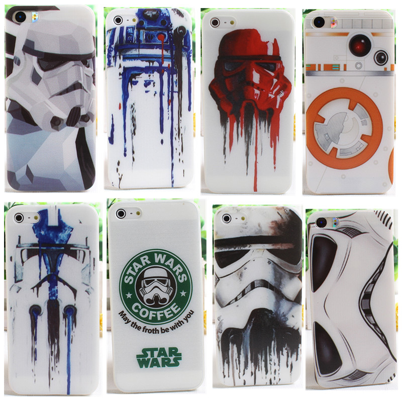 Soft TPU Phone <font><b>case</b></font> for <font><b>iphone</b></font> 5s 5 SE 6 6s <font><b>Star</b></font> <font><b>Wars</b></font> Armor Coffee Pattern Silicone <font><b>case</b></font> for <font><b>iphone</b></font> <font><b>7</b></font> 7plus 8 8 plus Coque Funda image