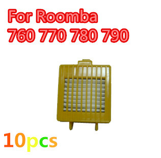 10 pcs HEPA filter For IRobot Roomba 700 Series 760 770 780 790 etc,Replacement FREE SHIPPING