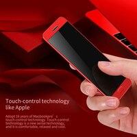 DOITOP Luxury Ultra thin Màn Hình Cảm Ứng MP3 MP4 Music Player Thông Minh điện thoại Dual SIM Khe Cắm Bluetooth Dialer Thẻ Điện Thoại Di Động FM Radio