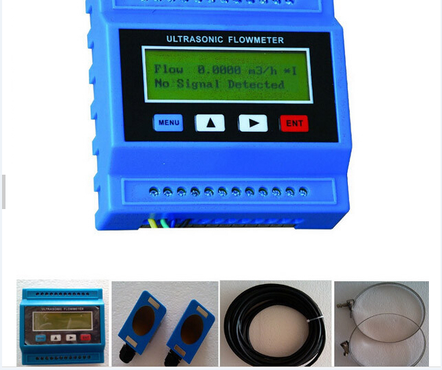 TUF-2000M DN15-100 DN50-700mm DN80-2000 DN300-6000 Digital Ultrasonic Flowmeter Flow Meter Module Sensor Indicator Counter