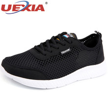 UEXIA Brand Summer Men Socks Sneakers Breathable Mesh Male Casual Shoes Lace up Sock Shoes Loafers Boy Super Light Sock Trainers