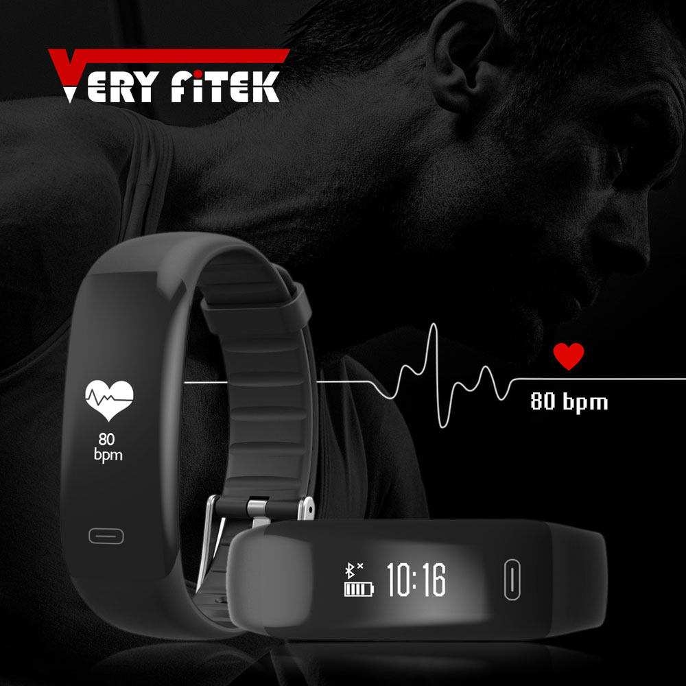 Sport Smart Band Fitness SOS Sleep Heart Rate Tracker Step Counter Band Alarm Vibration Wristband Support