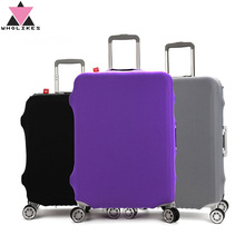 Wearable High Quality Thicken Travel Luggage Cart Bag Cover Protective Case Covers the Dust Bag Sets Elasticity (18-32inch)
