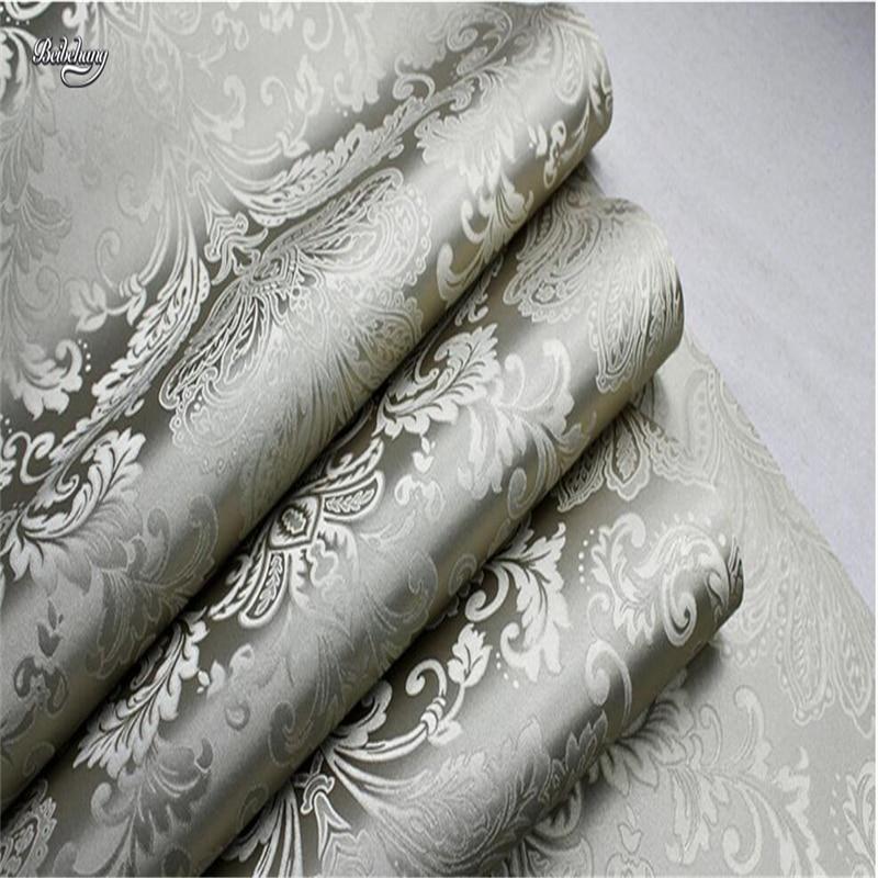 beibehang Nonwovens Wallpapers Bedroom Living Room Wallpapers TV Walls Wallpapers Damascus papel de parede 3d para sala atacado фотообои m12602 200х270 см barton wallpapers