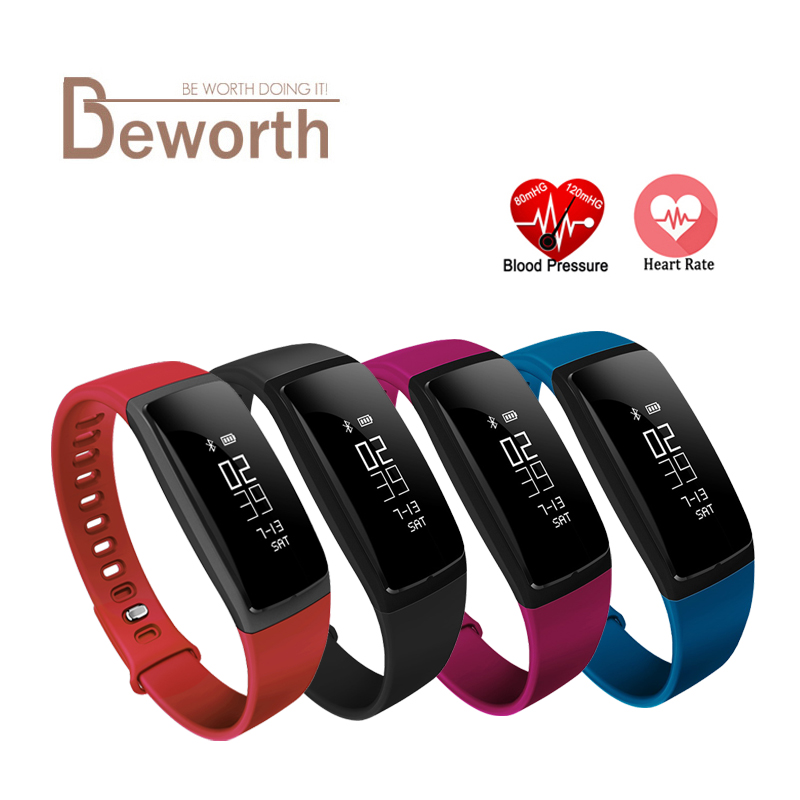 V07 Smart Band Wristband Band Heart Rate Blood Pressure Pedomet Bracelet Fitness V07S For iOS Android