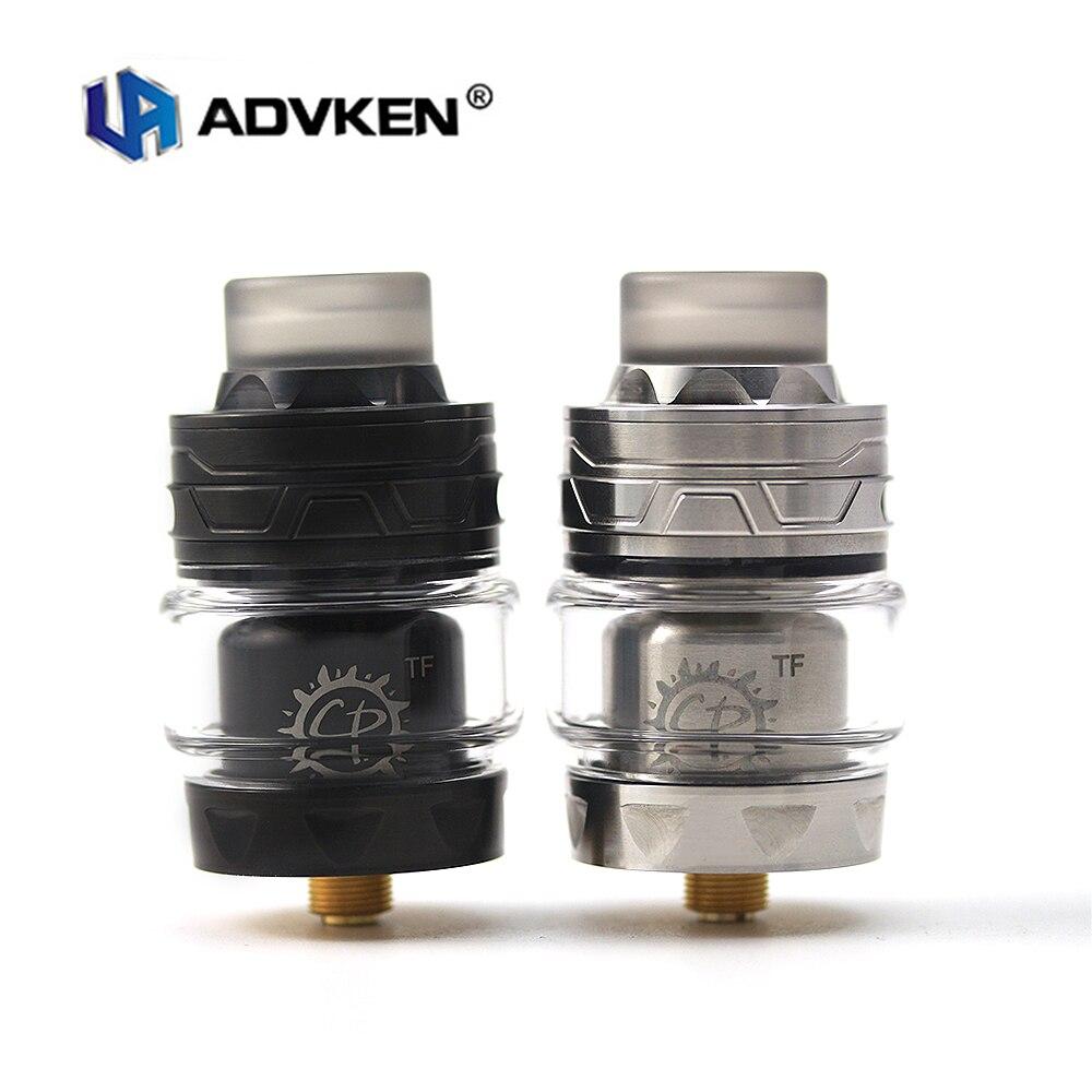 Cigarette électronique Atomiseurs D'origine Advken CP TF Unique Bobine 28mm Basé RTA 3 ml/4 ml Capacité Reconstructible dripping Réservoir 510