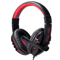 USB Stereo Headphone Microphone Headphones With Microphone GAME Gaming Headset For PS3 Laptop