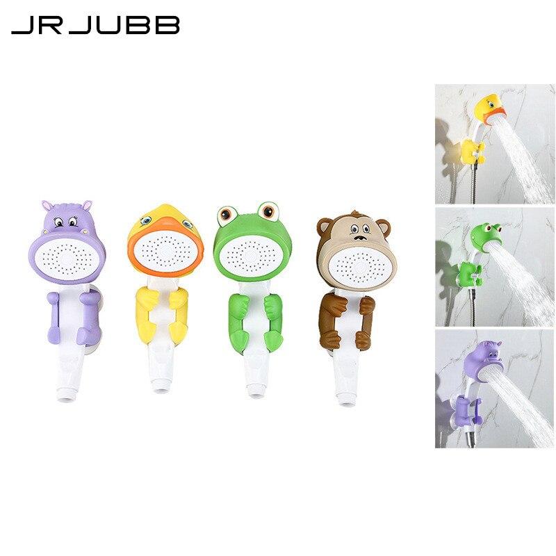 Objective Lovely Cartoon Shower Children Show Heads Abs Animal Hand Shower Child Shower Bath Toy Baby Shower