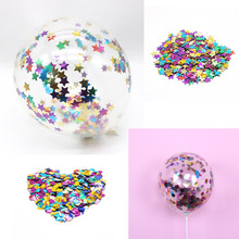 6pcs/lot birthday party decorations kids/adult colourful confetti balloons decoration anniversaire babyshower balony