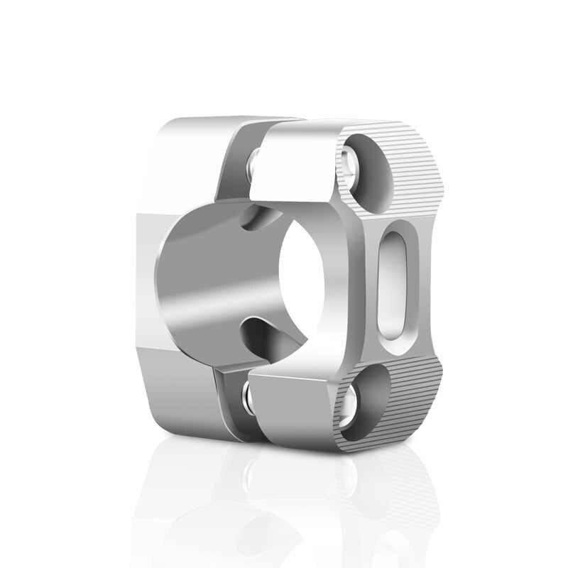 Outbit Manillar de la Motocicleta 2 Piezas 22 mm//28 mm Universal pivotante Manillar de la Motocicleta Soporte Elevador Abrazadera CNC Aluminio