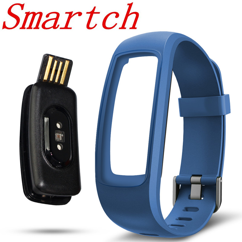 Smartch ID107 RH Plus Smart Bracelet Bracelet Moniteur de Fréquence Cardiaque Sport Cardio Fitness Tracker Guide Respiration Bluetooth Bande