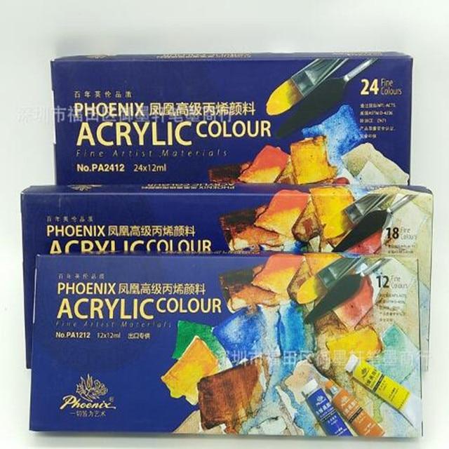Charmant Phoenix Marque Peinture Acrylique Peinture 12/18/24 Couleur Vêtements Peinture  Murale T