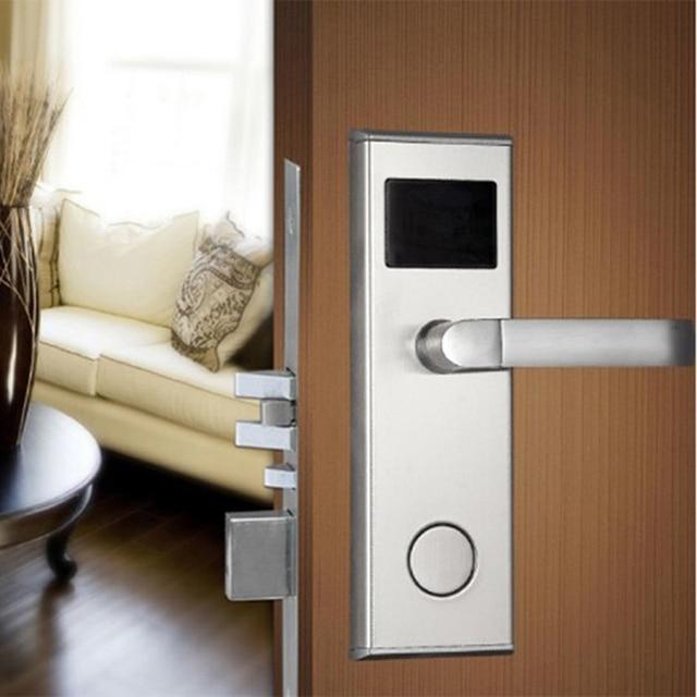 Factory selling smart swipe key card door lock & Factory selling smart swipe key card door lock -in Locks from Home ...