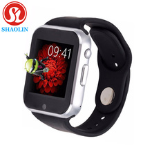 Shaolin smart watch soporte android 4.4 512 mb/4 gb wifi tarjeta sim gps bluetooth smartwatch para android teléfono inteligente electrónica