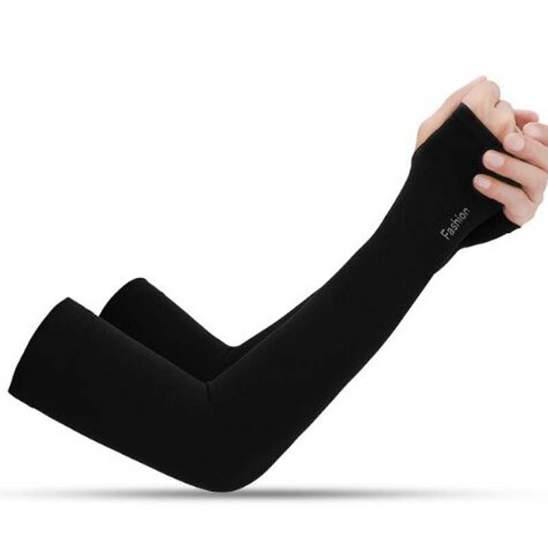 XEONGKVI Summer Seamless Arm Warmers Brand Bicycling Ice SilkSleeve Women Men Guantelete Tatoo Arm Sleeves For Sun Protection