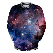 LUCKYFRIDAYF Suicide Squad 3D Starry Sky Baseball Jacket Autumn Women/Men New Fashion Coats Casual Clothes