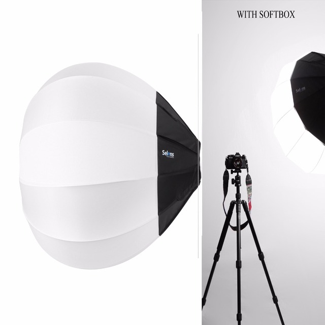 80cm Balloon Quick Ball Softbox Bowens Mount For Camera Photo Studio Flash