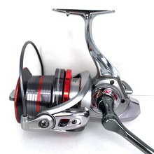 New! Super Big Ocean Reel 4.0:1 14+1BB Metal Spinning Fishing Reel Carp Bass Casting Sea Reel Fishing Tackle 9000/10000/12000