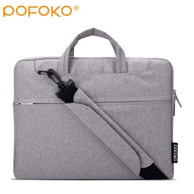 US $18 39 20% OFF|POFOKO brand Laptop Liner Sleeve Bag For Dell XPS 13