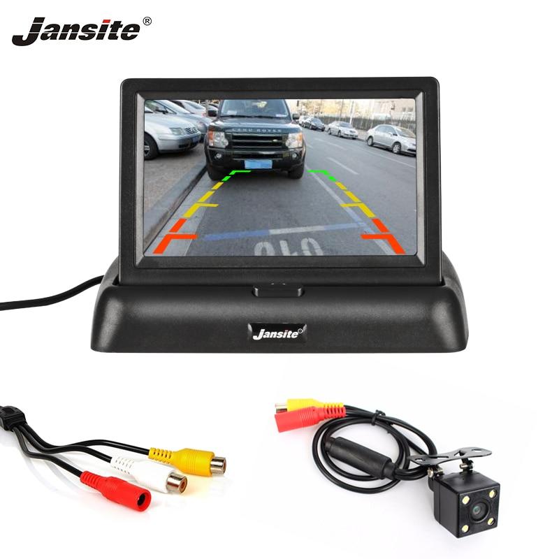 """Jansite 4,3"""" automonitori TFT LCD auto tahavaatekaamera varundamine"""
