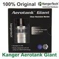 100% Original Kanger Aerotank Giant Electronic Cigarette Atomizer 4.5ml 510 Thread Dual Coil Airflow Control Kangertech Atomizer