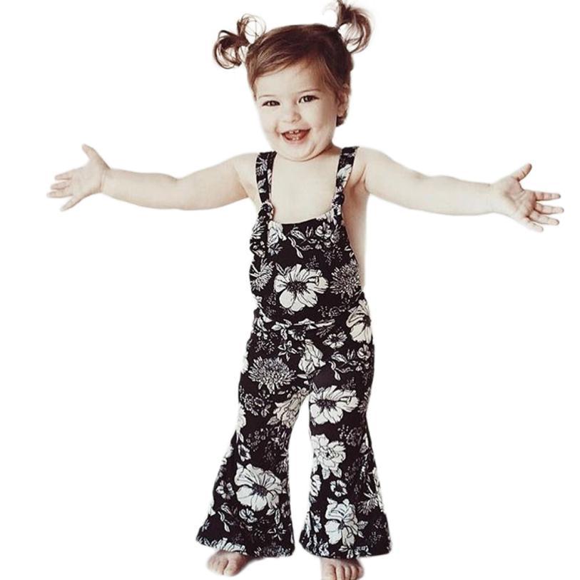 Mutter & Kinder Gutherzig Muqgew Kleine Mädchen Sommer Strap Backless Trompete Meerjungfrau Overall Für Kinder Mädchen Sommer Kleidung # Xtn Mangelware