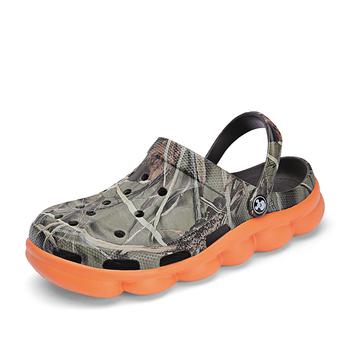 Letnie buty męskie drewniaki odkryte męskie trampki obuwie oddychające plażowe trampki męskie buty Chaussure Homme rozmiar 39-44 tanie i dobre opinie quaoar Buty Wtrysku EVA NONE Nowość Sandały Slip-on Mieszkanie (≤1cm) Pasuje prawda na wymiar weź swój normalny rozmiar