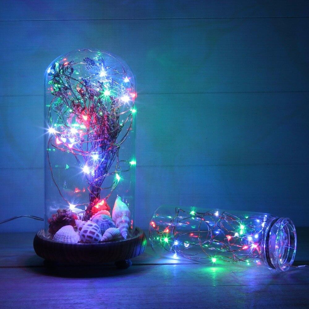 Magicnight 10ft 30 Multi Color Mini Micro LED Starry Lights ...