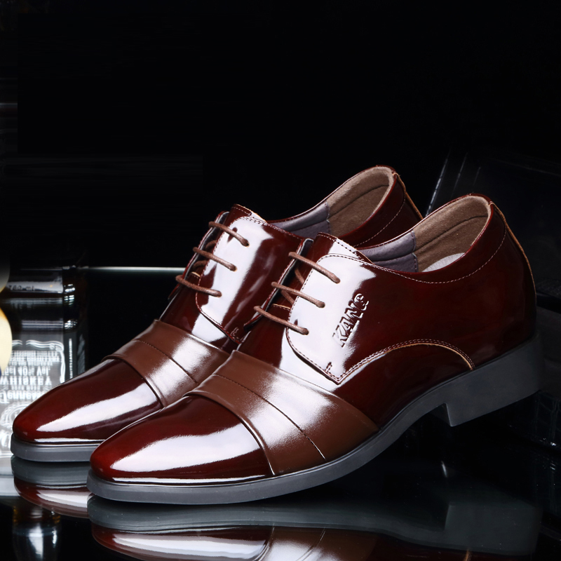 Men's Leather Shoes 2018 New England Leather Shoes Business Leather - Men's Shoes - Photo 3