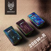 Snowwolf 200W Mod Box Powered by 18650 Battery Box Mod Electronic Cigarette Fit for 510 Thread Atomzizer Vaping Device Vaporizer