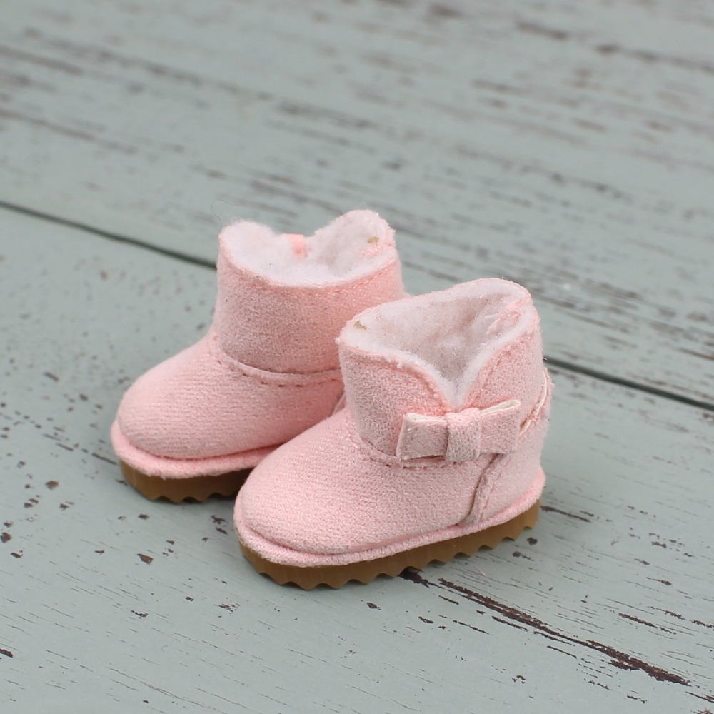 Neo Blythe Doll Fur Fluffy Boots 2