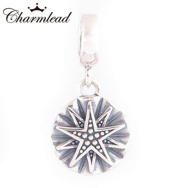 33a2fae05 ... release date charmlead sun shine star engraved charm 925 sterling  silver pendant bead fit pandora charms
